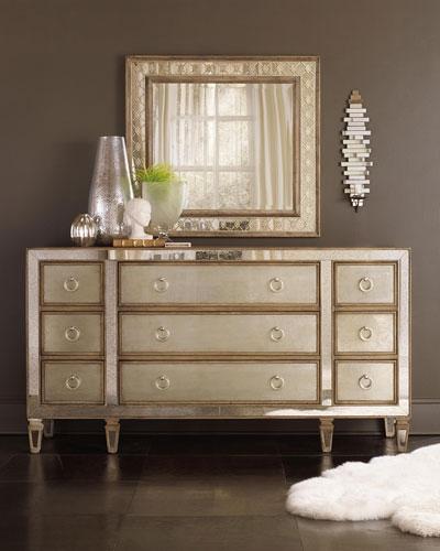 Ilyse Mirror-Trimmed Dresser