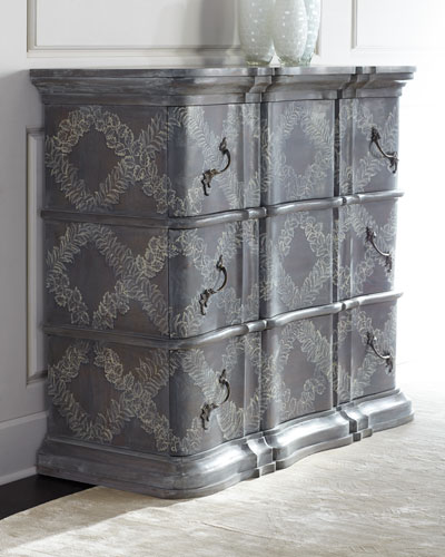 Hand painted chest neiman marcus for Hand painted chests