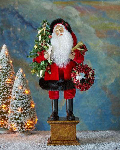 Victorian Celebration Santa