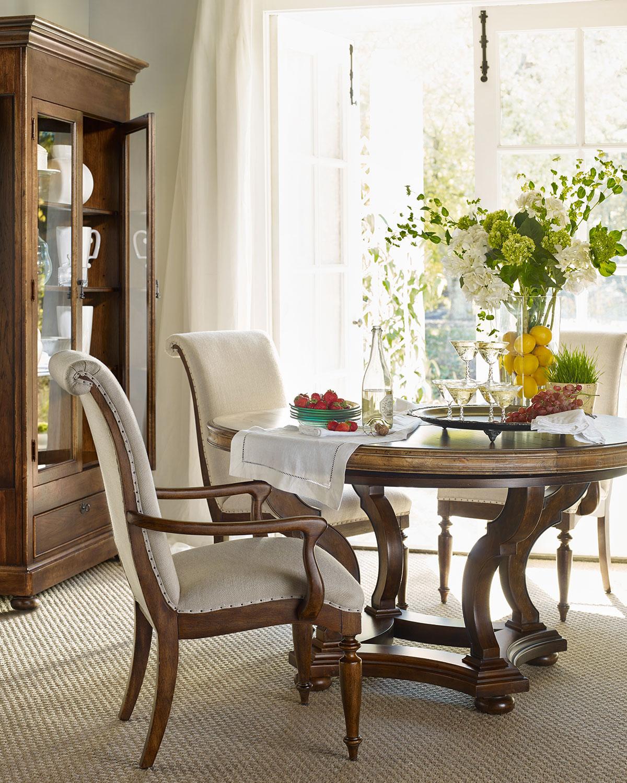 'Hooker Furniture Cecile Pedestal Dining Table