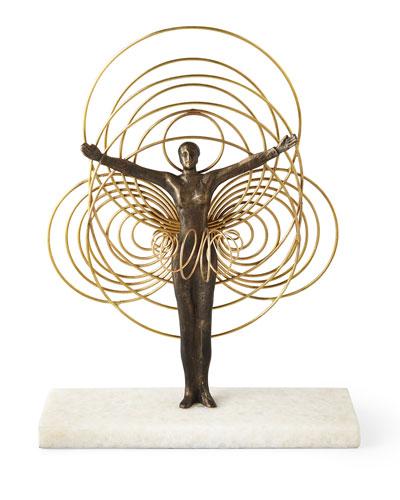 Bauhaus Wire Woman Sculpture