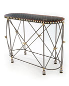 Honeycomb Console Table