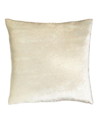 Neutral Luxe Golden Pillow