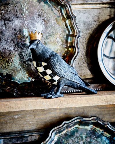 Crowned Crow Figure