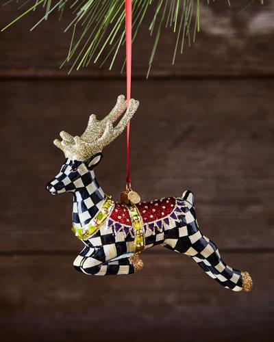 Prancer Christmas Ornament