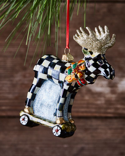 Moose-on-Parade Christmas Ornament