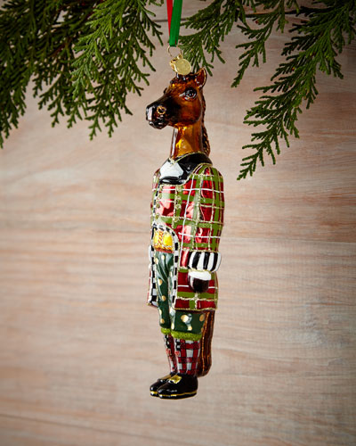Mr. Trotter Christmas Ornament