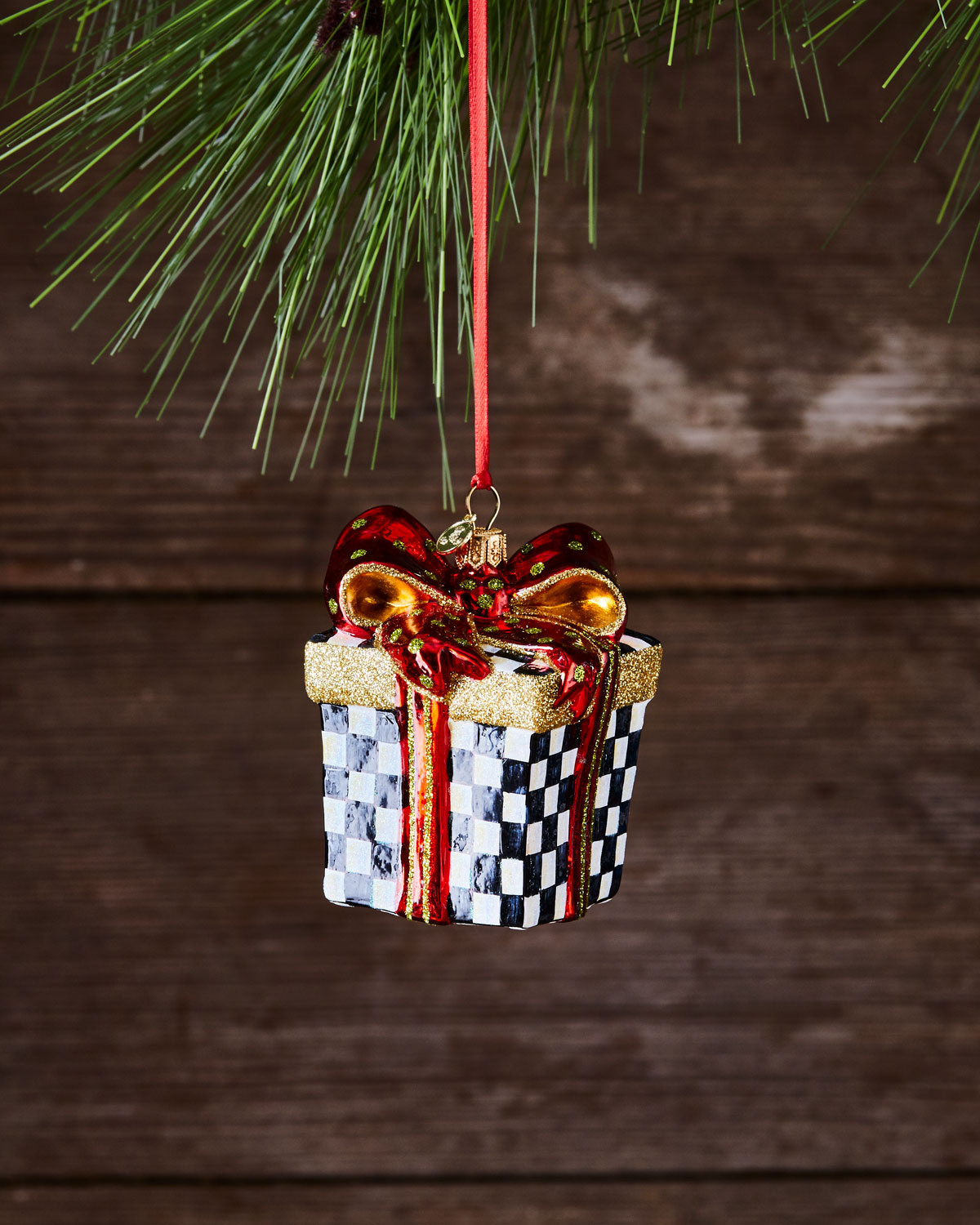 Courtly Cheer Christmas Ornament