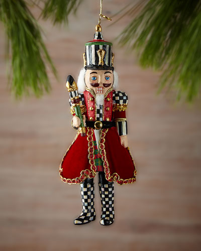 Trim the Tree Nutcracker Christmas Ornament