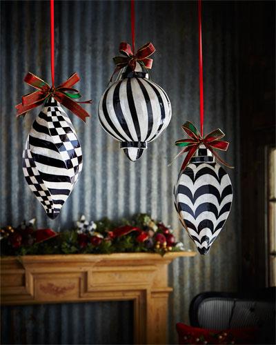 Jumbo Ball Capiz Christmas Ornament