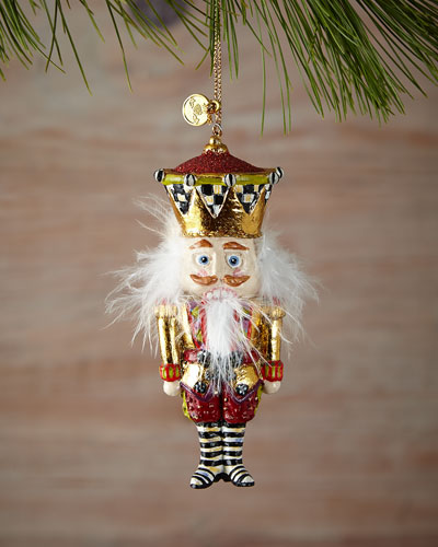 Butterfly Keeper Nutcracker Christmas Ornament