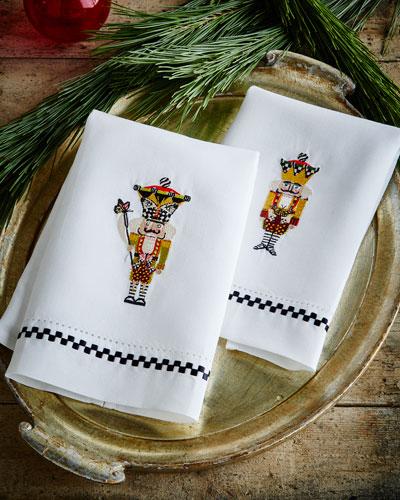 Nutcracker Guest Towels, 2-Piece Set