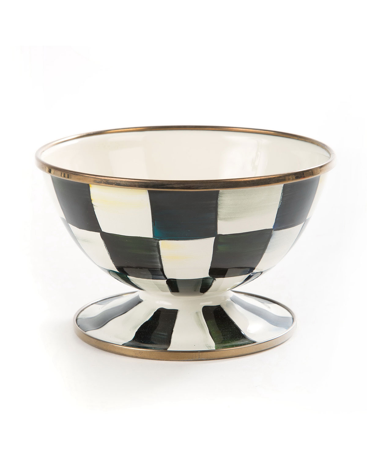 Courtly Check Ice Cream Bowl