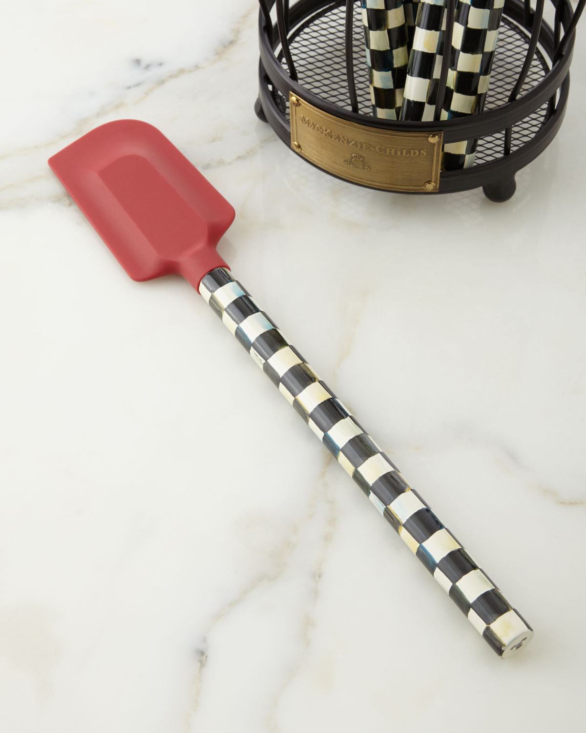 Courtly Check Red Spatula