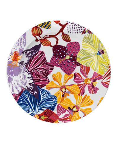 Flowers Round Platter