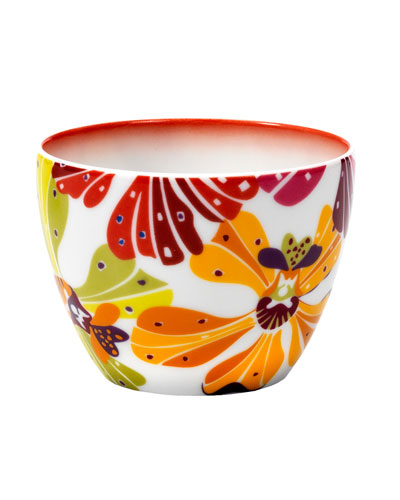 Flowers Small Fruit Bowl
