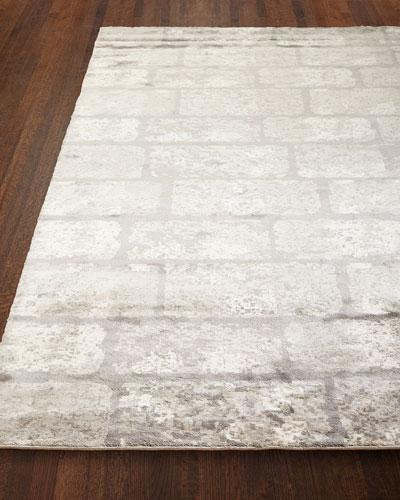 Silver Gem Rug, 9' x 12'