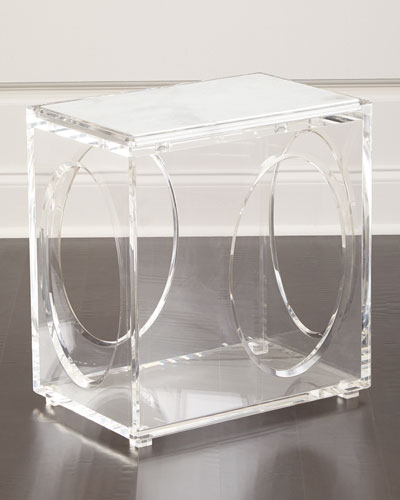 Milly Acrylic End Table