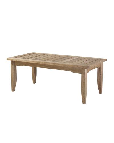 Neiman_marcus Edgewood Rectangular Outdoor Coffee Table