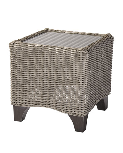 Requisite Outdoor End Table