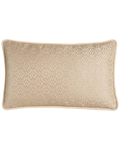 Antonia Diamond-Weave Pillow, 14