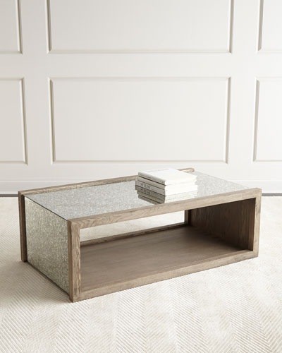 Margolyn Mirrored Coffee Table