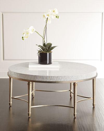 Aura Round Coffee Table