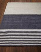 """Tundra Stripe Rug, 7'9"""" x 10'10"""""""