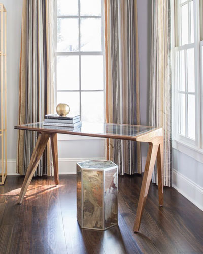 Essex Mirrored End Table