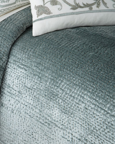King Aleksi Pick-Stitch Coverlet
