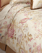 Full Arielle Floral/Bird Duvet Cover