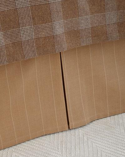 Queen Arielle Copley Stripe Dust Skirt
