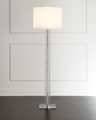 Stacked Acrylic Floor Lamp