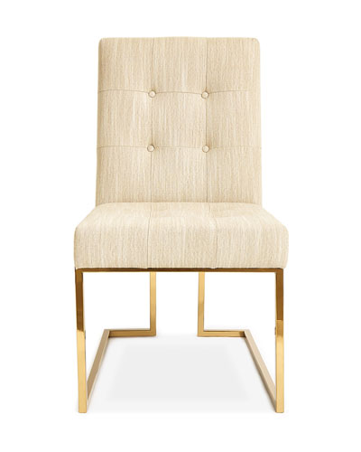 Goldfinger Oatmeal Dining Chair