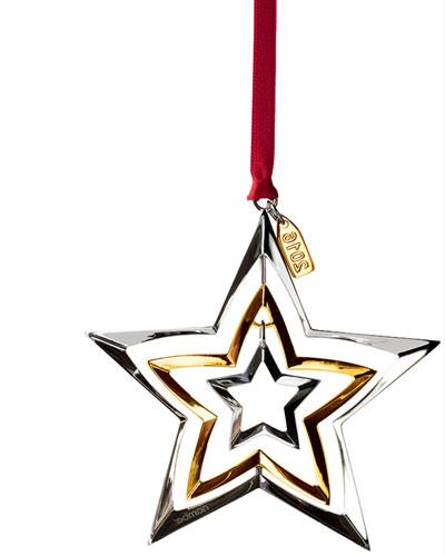 2016 Annual Star Christmas Ornament