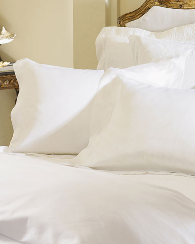 Two King Giza 45 Sateen Pillowcases