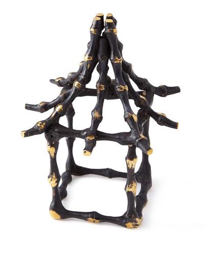 Bamboo Pagoda Napkin Ring