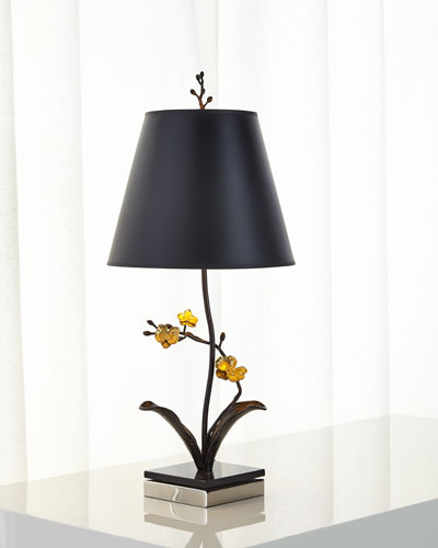 Quick look michael aram · gold orchid table lamp