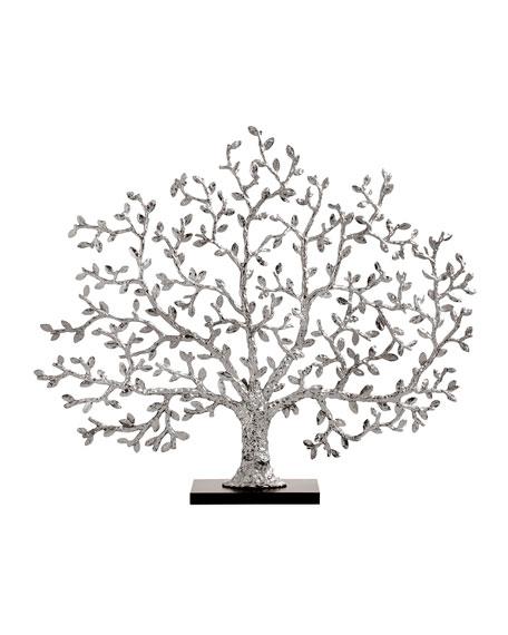 Michael Aram Tree of Life Silvery Fireplace Screen