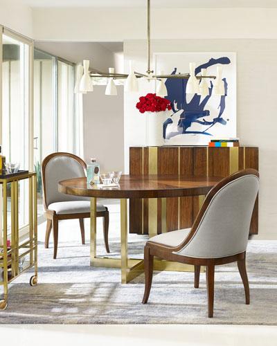 Horizon Line Round Dining Table