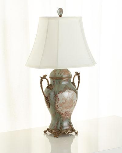 Porcelain Trophy Lamp