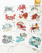 Zodiac Cocktail Napkins, 12-Piece Set