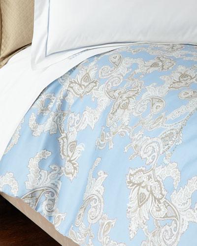 Queen Royal Paisley Duvet Cover