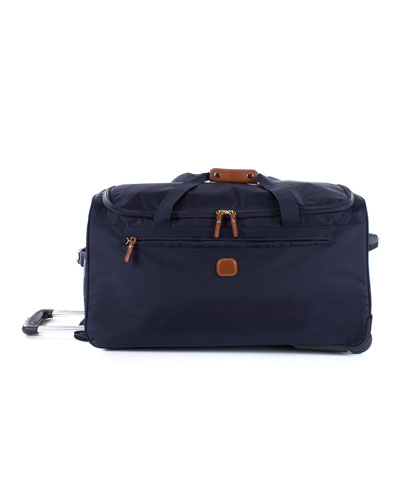 X-BAG 28-INCH ROLLING DUFFEL BAG - BLUE