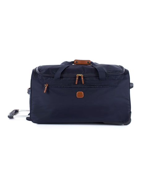 "Bric's Navy X-Bag 28"" Rolling Duffel Luggage"