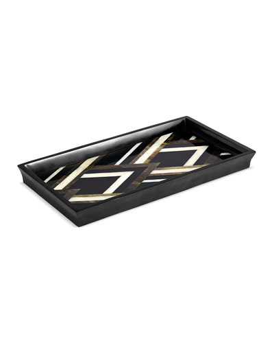 Deco Noir Small Tray