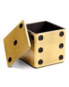 Golden Dice Decorative Box