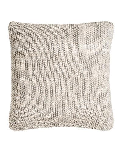 Watercolor Knit Pillow, 18