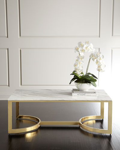 Quick Look. Bernhardt · Marquis Marble Coffee Table