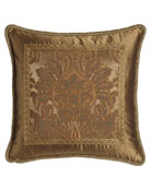 "Regency Pillow, 19""Sq."
